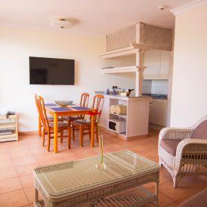 Ein Blick in eines der Apartments im Hotel Taboga