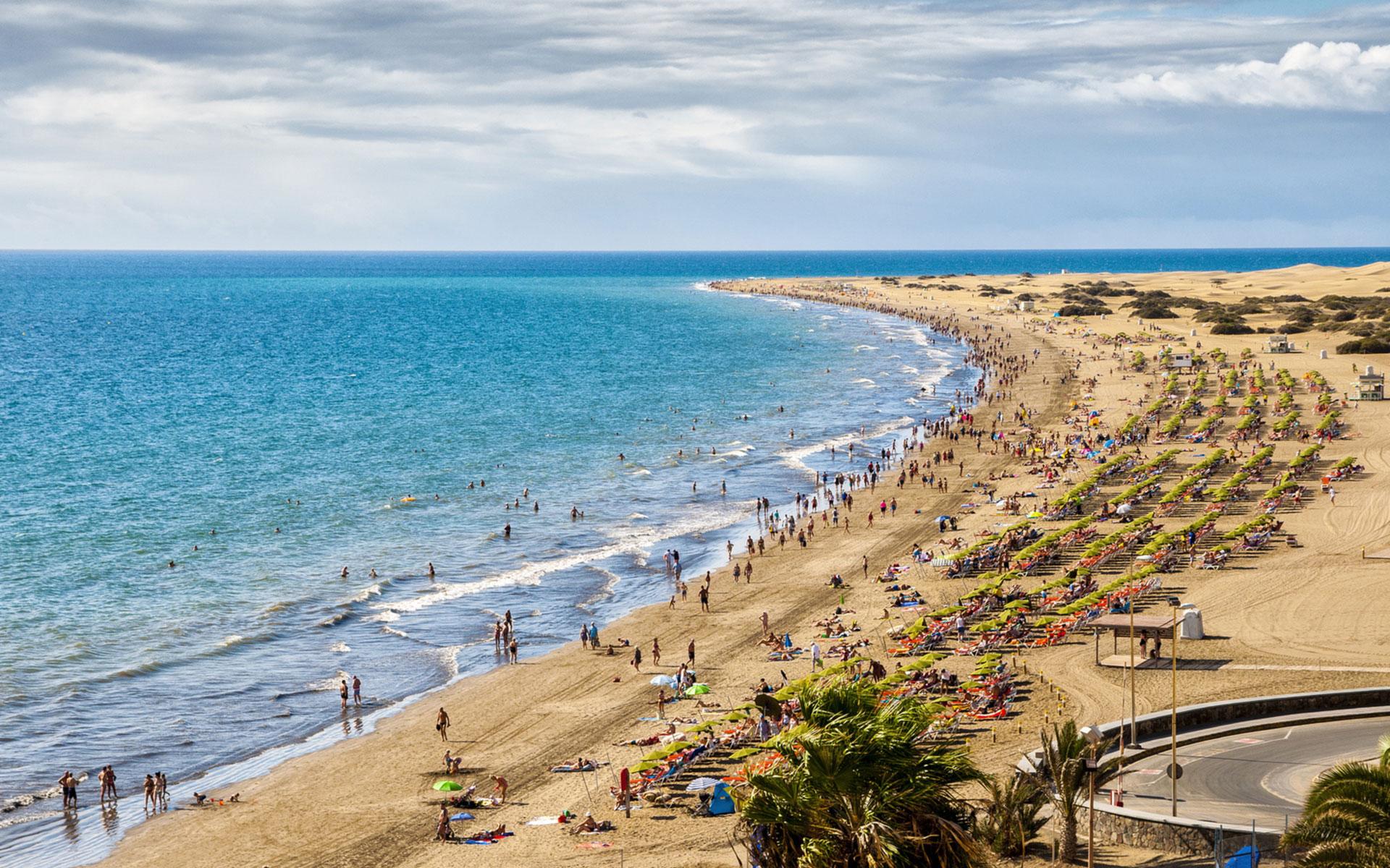 Der Playa del Inglés
